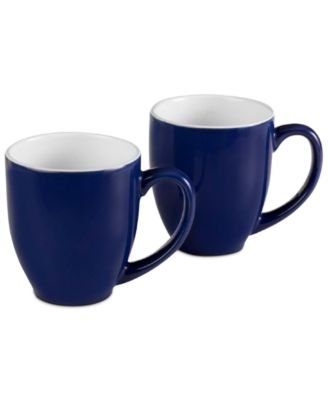 Corelle Boutique Uptowne Blue 13-oz. Mugs, Set of 2