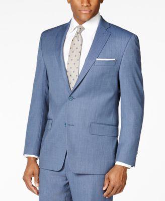 MICHAEL Michael Kors Medium Blue Pindot Big and Tall Classic-Fit ...