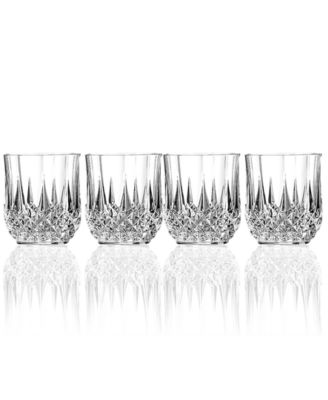 Longchamp Glassware, Set of 4 Diamax Double Old Fashioned Glasses