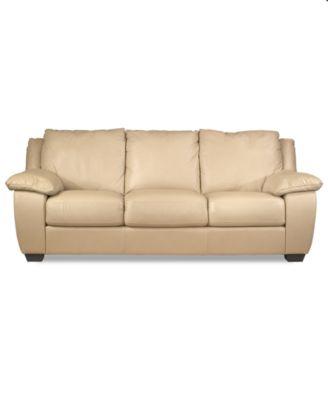 Blair Leather Sofa Furniture Macys