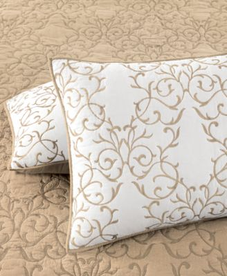 Martha Stewart Collection Chateau Latte Standard Sham, Only at Macy's