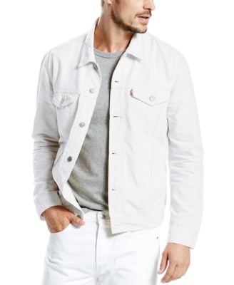 Calvin klein white denim jacket