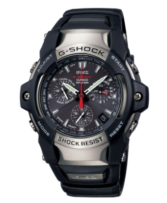 G-Shock Watch, Men's Giez Analog Atomic Solar Strap GS1100-1A