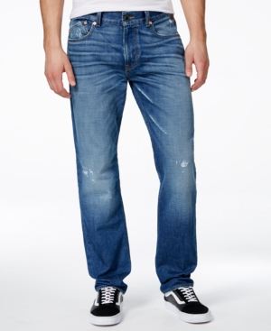 Lrg Men's Rc True Tapered-Fit Vintage Wash Jeans