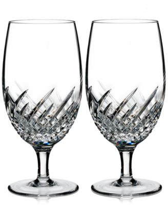 Waterford Essentially Wave Collection 2-Pc. Iced Beverage Glasses