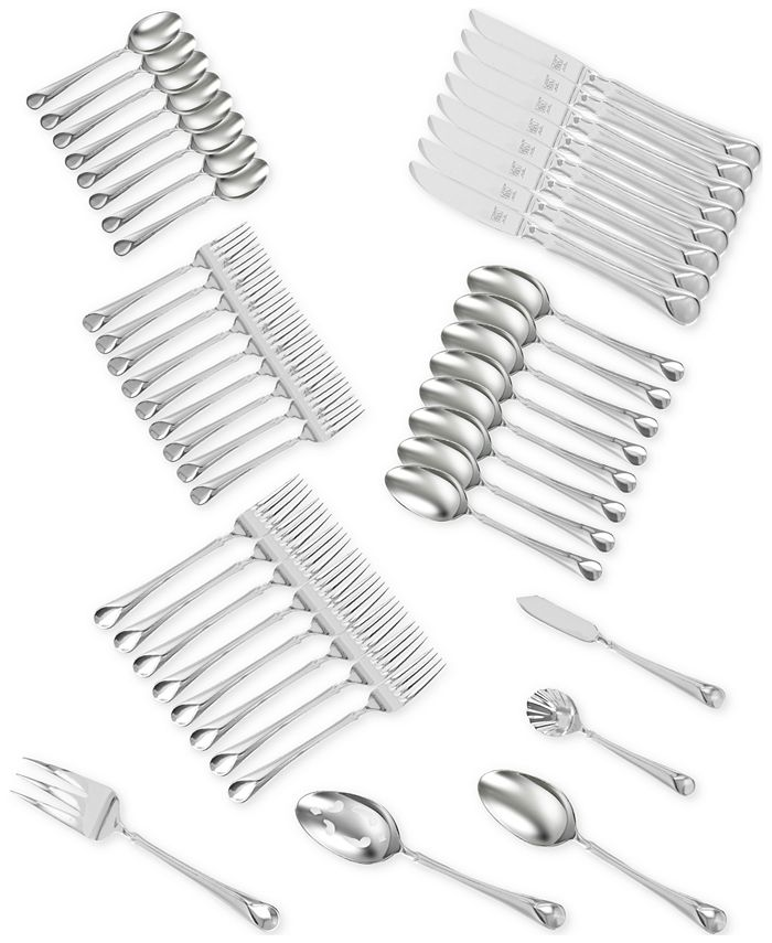 J.A. Henckels - TWIN® Brand Provence 18/10 Stainless Steel 45-Pc. Flatware Set, Service for 8