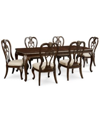 Laurent 7 Pc. Dining Set (Dining Table U0026 6 Side.