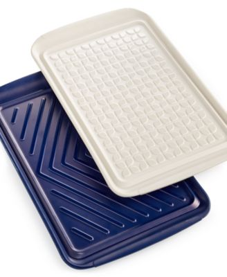 Martha Stewart Collection Set of 2 Prep & Serve Trays