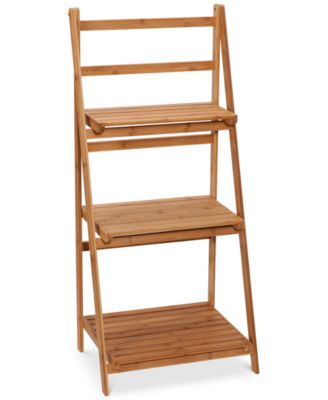 Creative Bath Eco Three-Shelf Bamboo Folding Tower