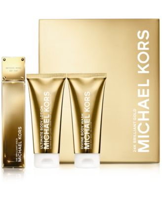 Michael Kors Collection 24K Brilliant Gold Deluxe Gift Set - Shop ...