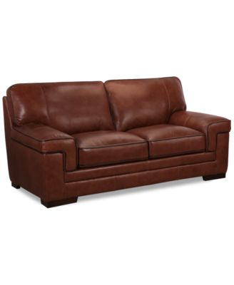 Myars Leather Sofa A Macy S Exclusive Style Furniture