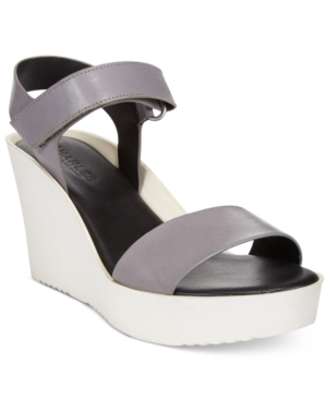 Charles by Charles David Camp Wedge Sandals Women's Shoes