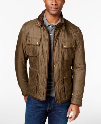 Barbour Chukka Quilted Jacket - Coats & Jackets - Men - Macy's : barbour quilted jackets - Adamdwight.com
