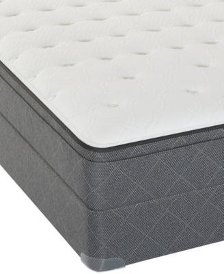 Sealy Posturepedic Cherry Hill 12 Cushion Firm Eurotop Mattress Set King