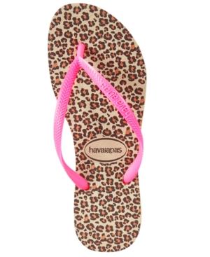Havaianas Women's Slim Animal Flip-Flops Women's Shoes