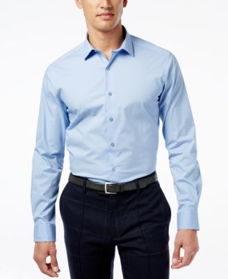 Image of Alfani Spectrum Men's Slim-Fit Stretch Dress Shirt, Only at Macy's