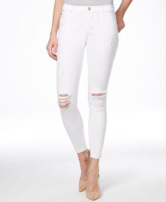 Hudson Jeans Krista Star-Print Skinny Ankle Jeans - Jeans - Women ...