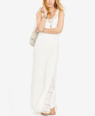 Embroidered Gauze Dress - Denim & Supply Short - RalphLauren.com
