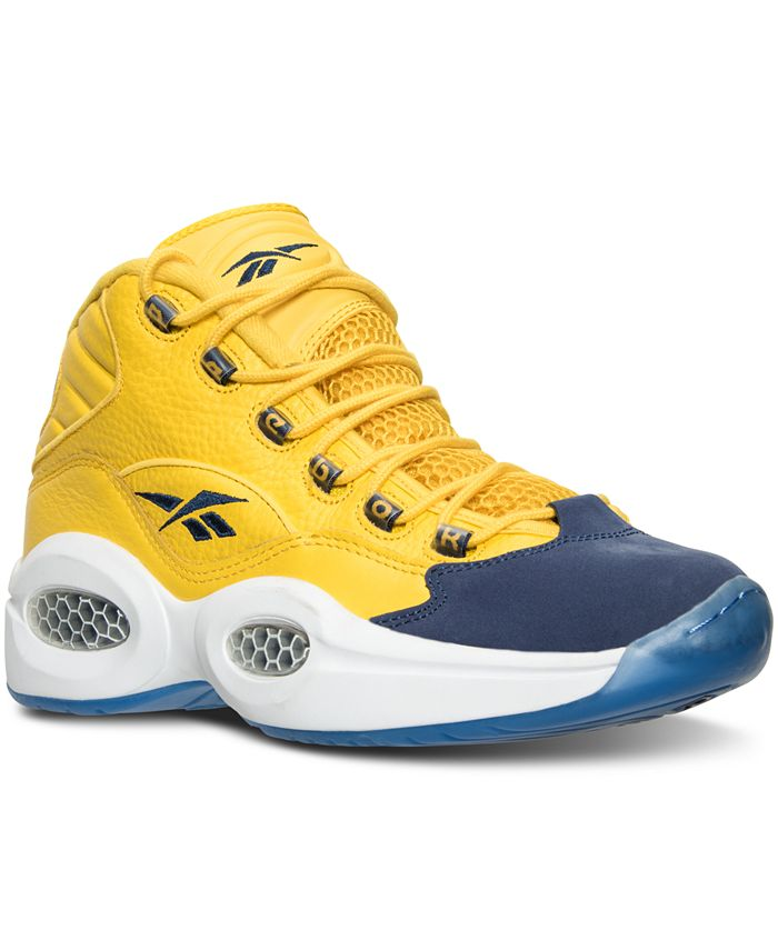 Reebok - Men's Question Mid All Star Basketball Sneakers from Finish Line