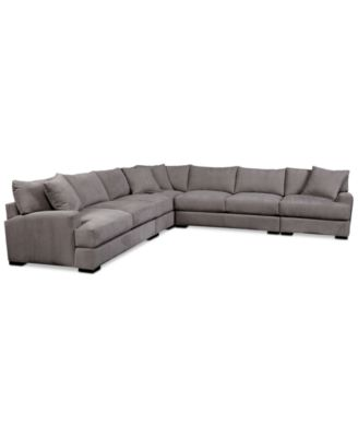 Jedd Fabric Power Motion Sofa Living Room Furniture