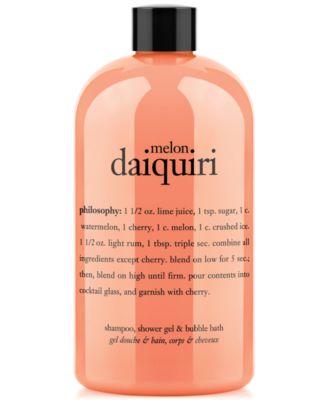 melon daquiri 3-in-1 shampoo, shower gel and bubble bath, 16 oz