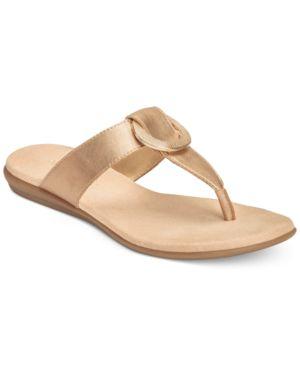 Aerosoles Supper Chlub Flat Thong Sandals Women's Shoes