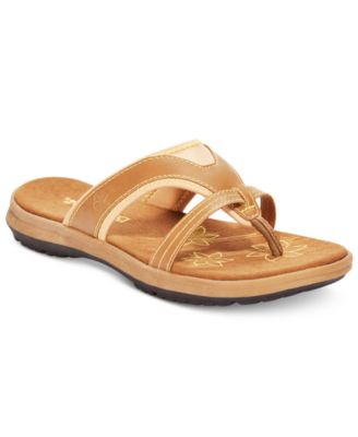 Kathryn Slide Tech Flat Sandal TanYellow 11M