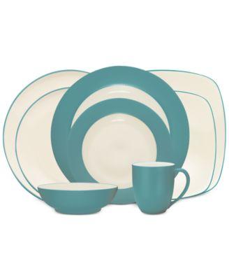 noritake colorwave turquoise collection - Noritake Colorwave