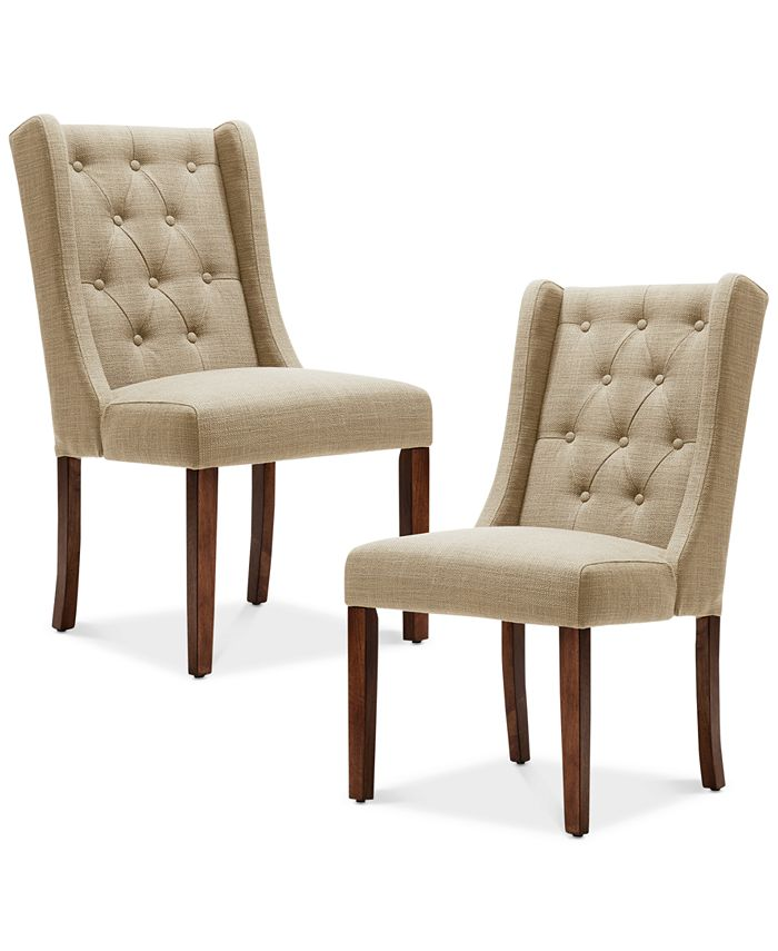 carriage & co. - Bodell Set of 2 Dining Chairs, Direct Ship