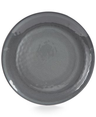 Home Design Studio Smoke Melamine Dinnerware Collection Dinner Plate, Only at Macy's