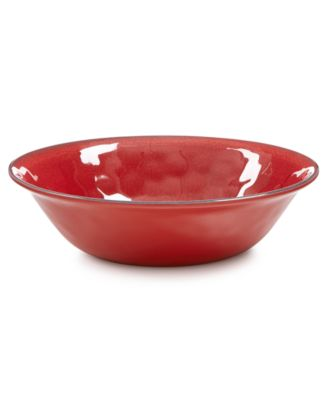 Home Design Studio Paprika Melamine Dinnerware Collection Cereal Bowl, Only at Macy's