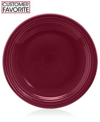 "Fiesta 7.25"" Claret Salad Plate"