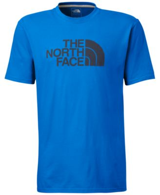 The North Face Logo Half Dome T-Shirt - T-Shirts - Men - Macy's