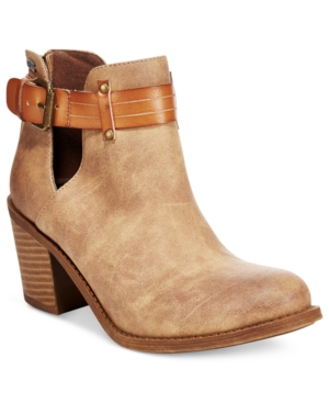 Roxy Laurel Cutout Ankle Booties Women's Shoes