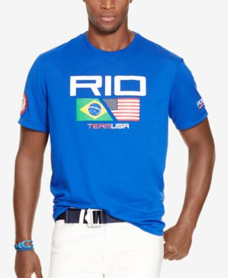 Team USA Graphic T-Shirt - Polo Ralph Lauren Tees - RalphLauren ...