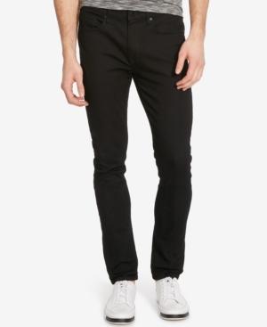 Kenneth Cole New York Men's Skinny-Fit Stretch Black-Wash Jeans