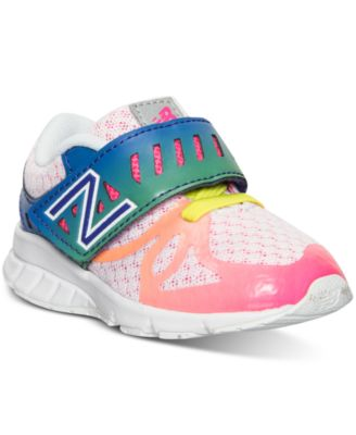 d272e6065e67 New Balance Toddler Girls u0027 200 v1 Velcro Running Sneakers from Finish  Line