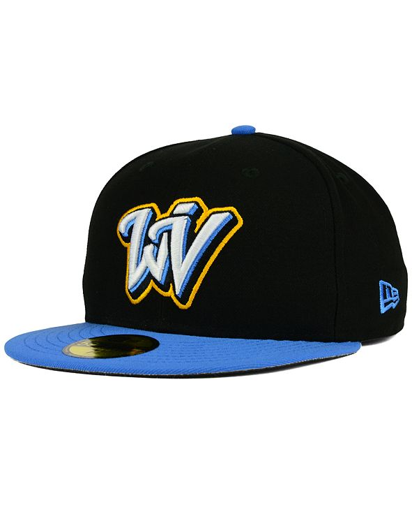 New Era West Virginia Black Bears AC 59FIFTY Fitted Cap