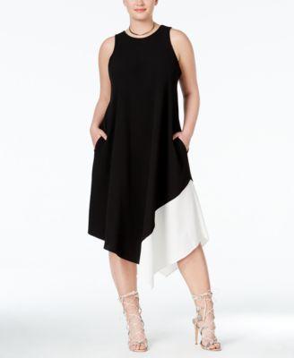 Rachel roy black and white dress