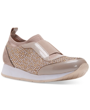 Donald J Pliner Ryley Embellished Slip-On Sneakers Women's Shoes