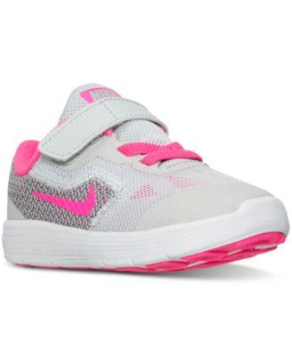 Nike Toddler Girls' Revolution 3 Running Sneakers from.