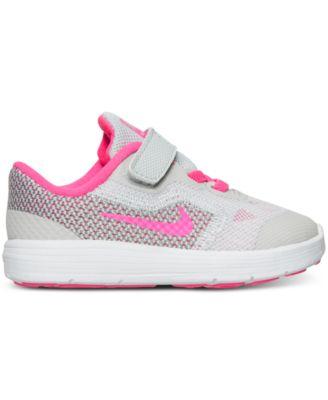 Nike Toddler Girls Revolution 3 Running Sneakers From