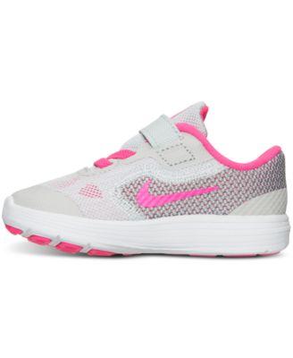 nike revolution 3 girls sneakers