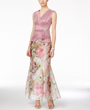 Alex Evenings Petite Mock Two-Piece Gown $199.00 AT vintagedancer.com