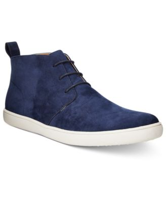 Calvin Klein Men's Wilder Diamond Leather Chukka Boots - All Men's ...