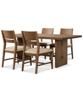 Athena Pc Dining Set Dining Table   Side Chairs Furniture - Macys dining room sets