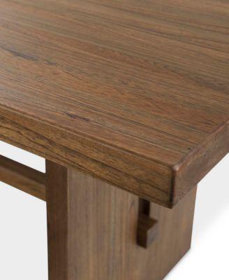 athena 7pc dining set dining table u0026 6 side chairs - Macys Coffee Table