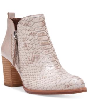 Donald J Pliner Edyn Block-Heel Ankle Booties Women's Shoes