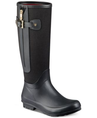 Jessica Simpson Racyn Quilted Rain Boots - Boots - Shoes - Macy's