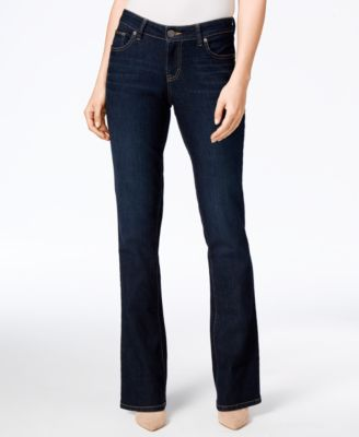 Style & Co. Curvy-Fit Modern Bootcut Jeans, Stream Wash - Jeans ...